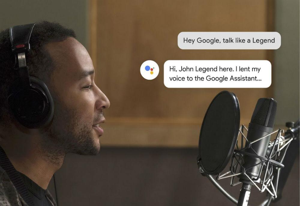 Google lança assistente de voz com perfil do cantor John Legend