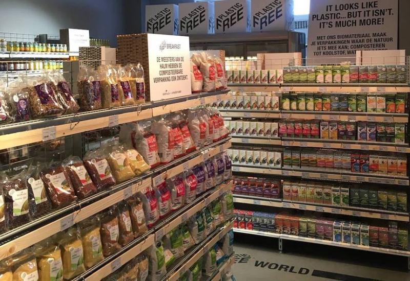 Supermercado holandês cria primeiro corredor sem plástico do mundo