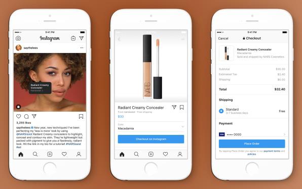 Instagram vai permitir que usuários comprem direto pelo app