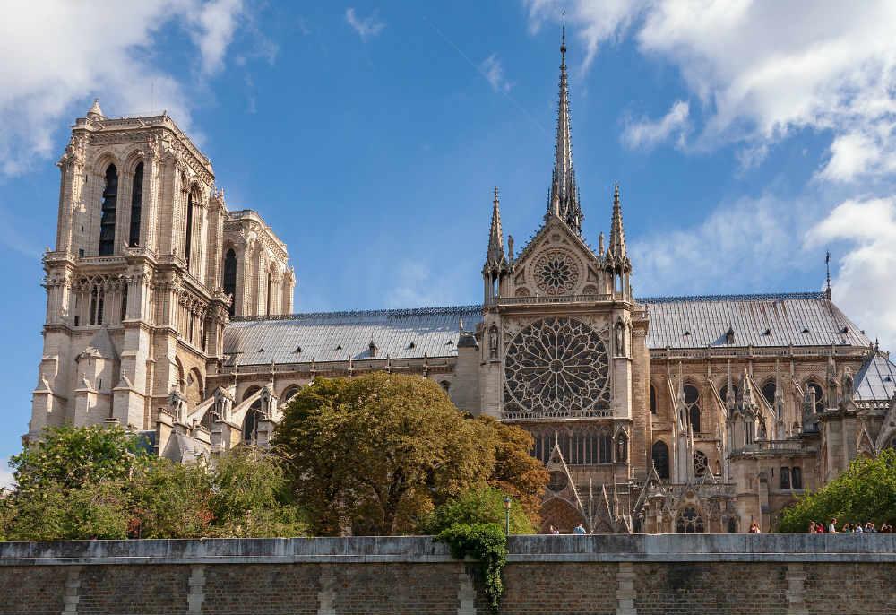 Uma nova tecnologia pode ser usada na reconstrução da Catedral de Notre Dame