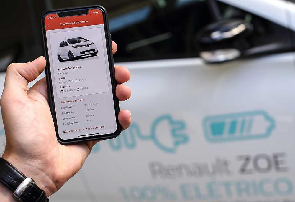 Centro de inovação acompanha outras práticas da montadora com objetivo de oferecer soluções em mobilidade. Plataforma de carsharing é outra novidade. Foto: Divulgação.