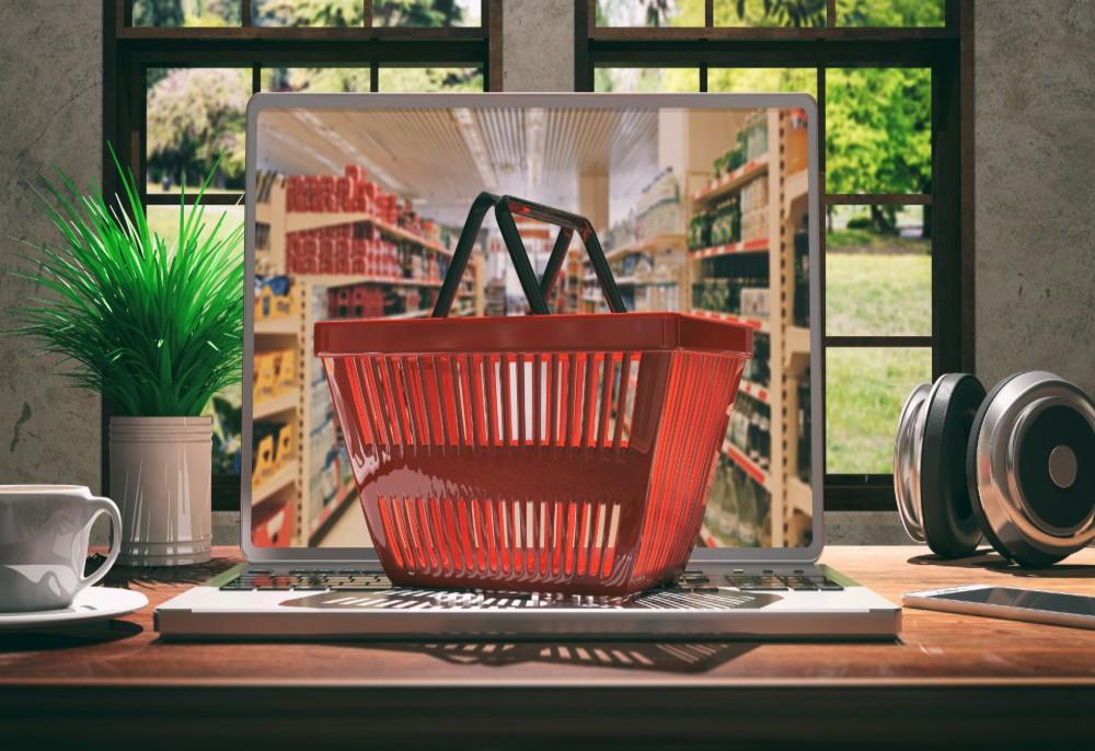 15% dos brasileiros fazem compras de supermercado online