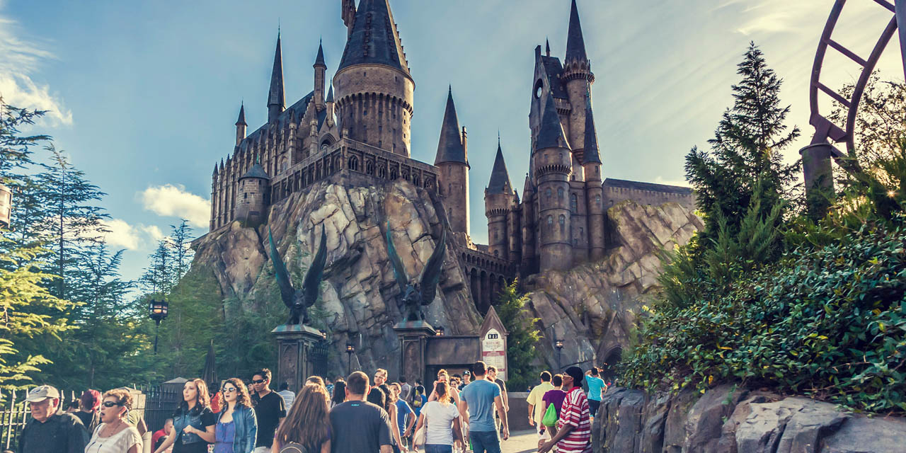 Parque do Harry Potter na Universal's Island Adventure