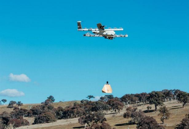 Serviço de delivery do Google, Wing realiza primeira entrega com drone