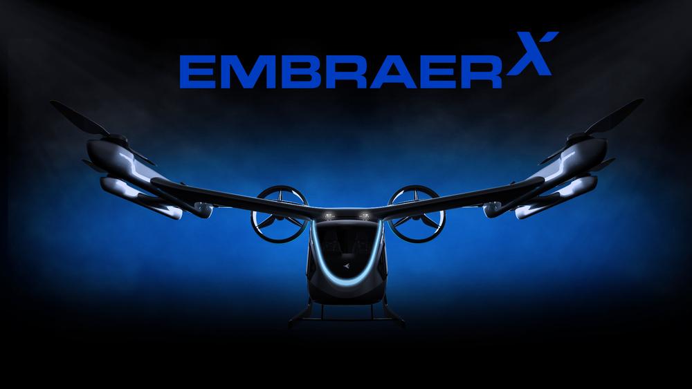 Uber Elevate EmbraerX