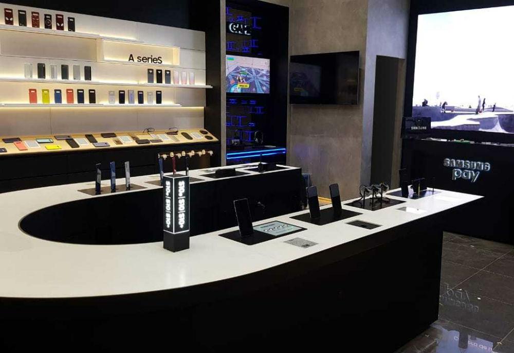 Samsung aposta em nova loja conceito no Shopping Parque da Cidade