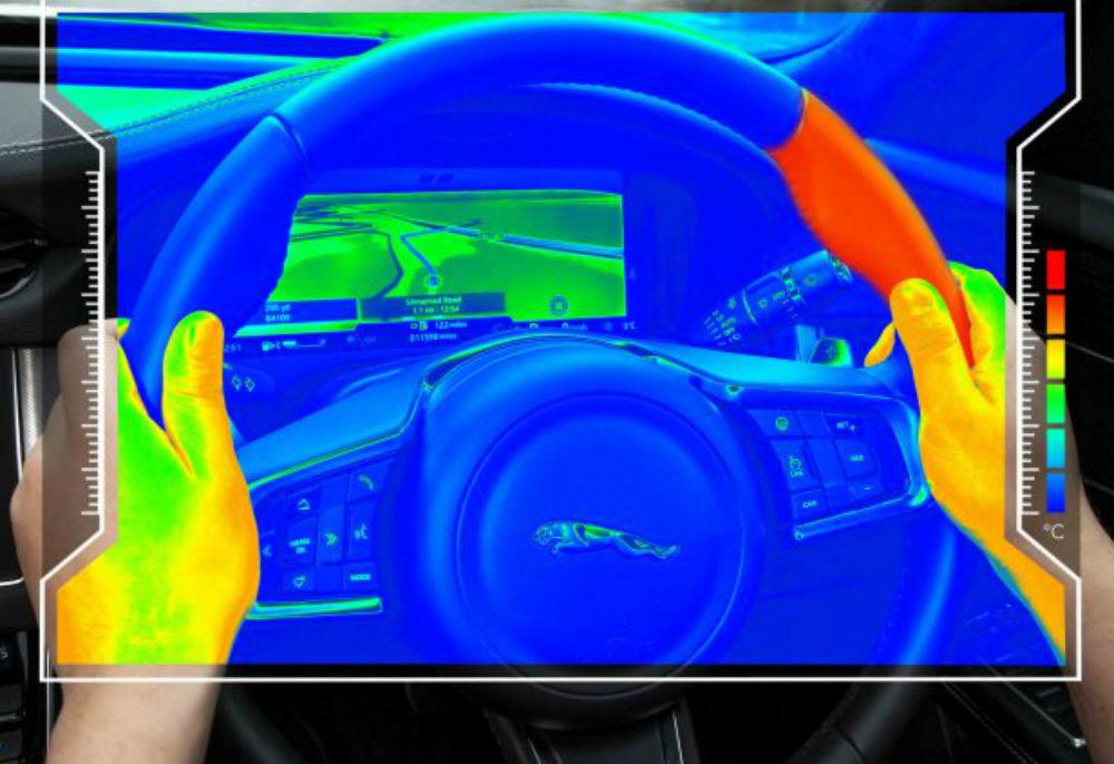 Jaguar Land Rover desenvolve volante sensorial que muda de temperatura
