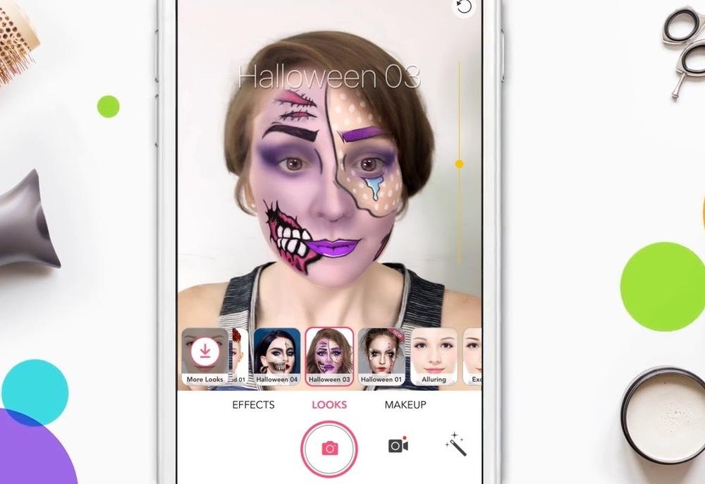 YouTube VR maquiagem