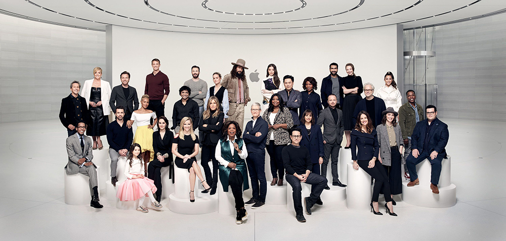 Elenco do AppleTV+