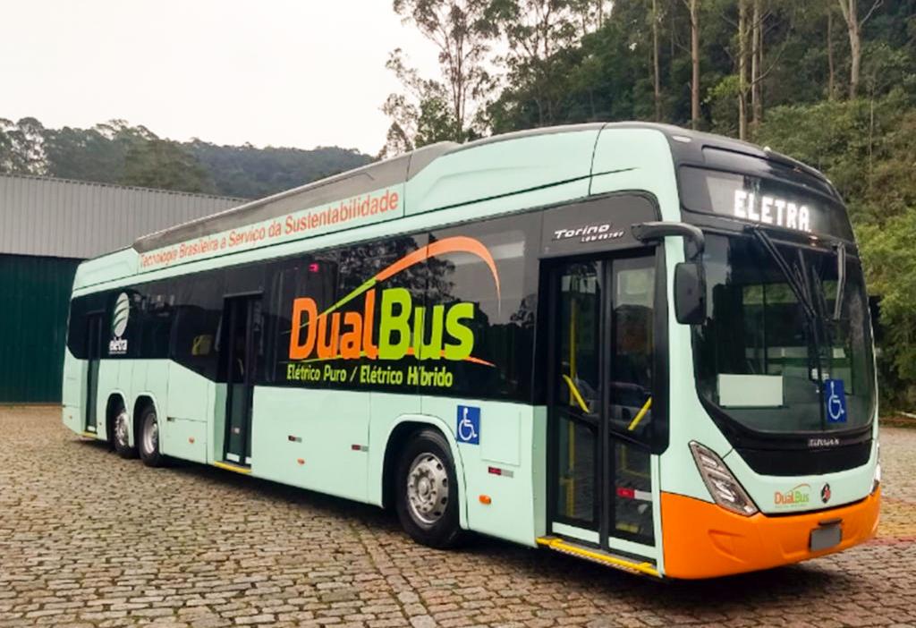 Ônibus Elétrico Híbrido
