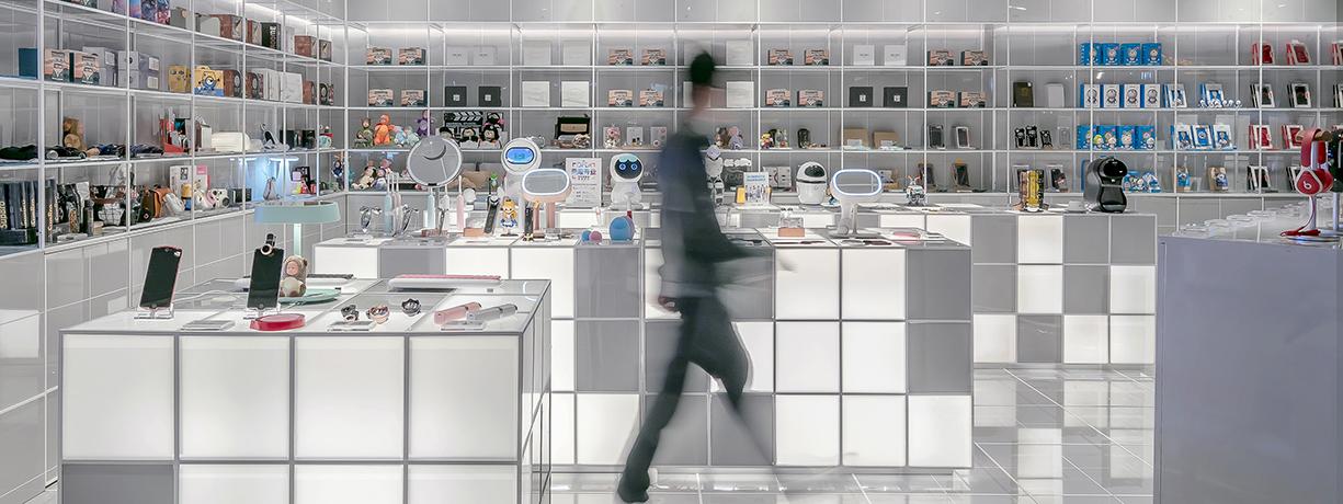 lojas do futuro