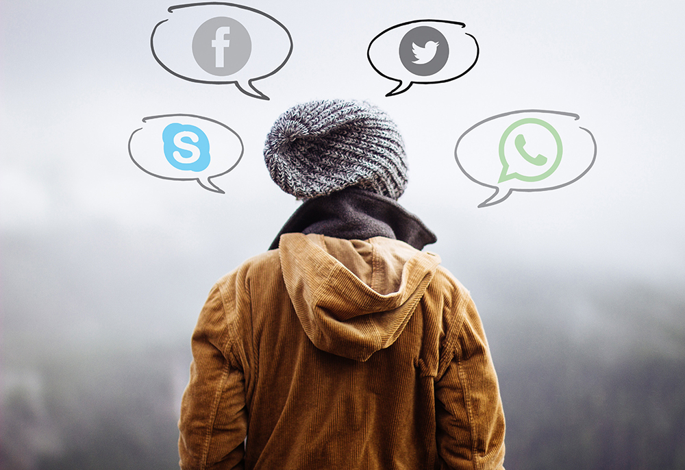 aplicativos de mensagens