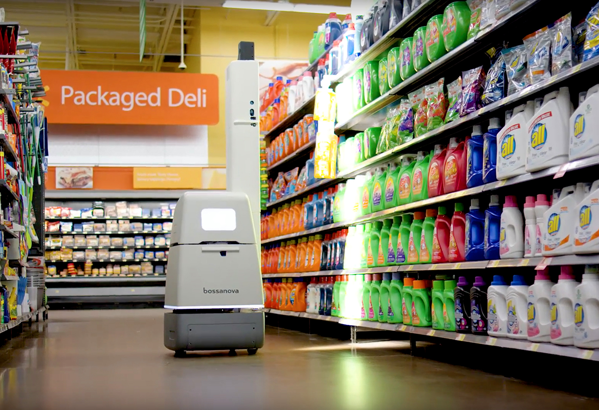 Walmart terá robôs operando em mil lojas nos Estados Unidos