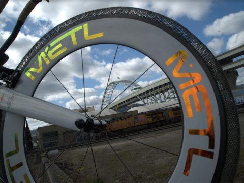 bicicleta de rodas da nasa