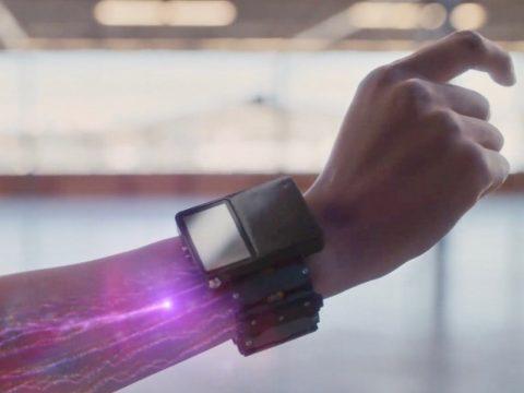 pulseira de realidade aumentada do facebook