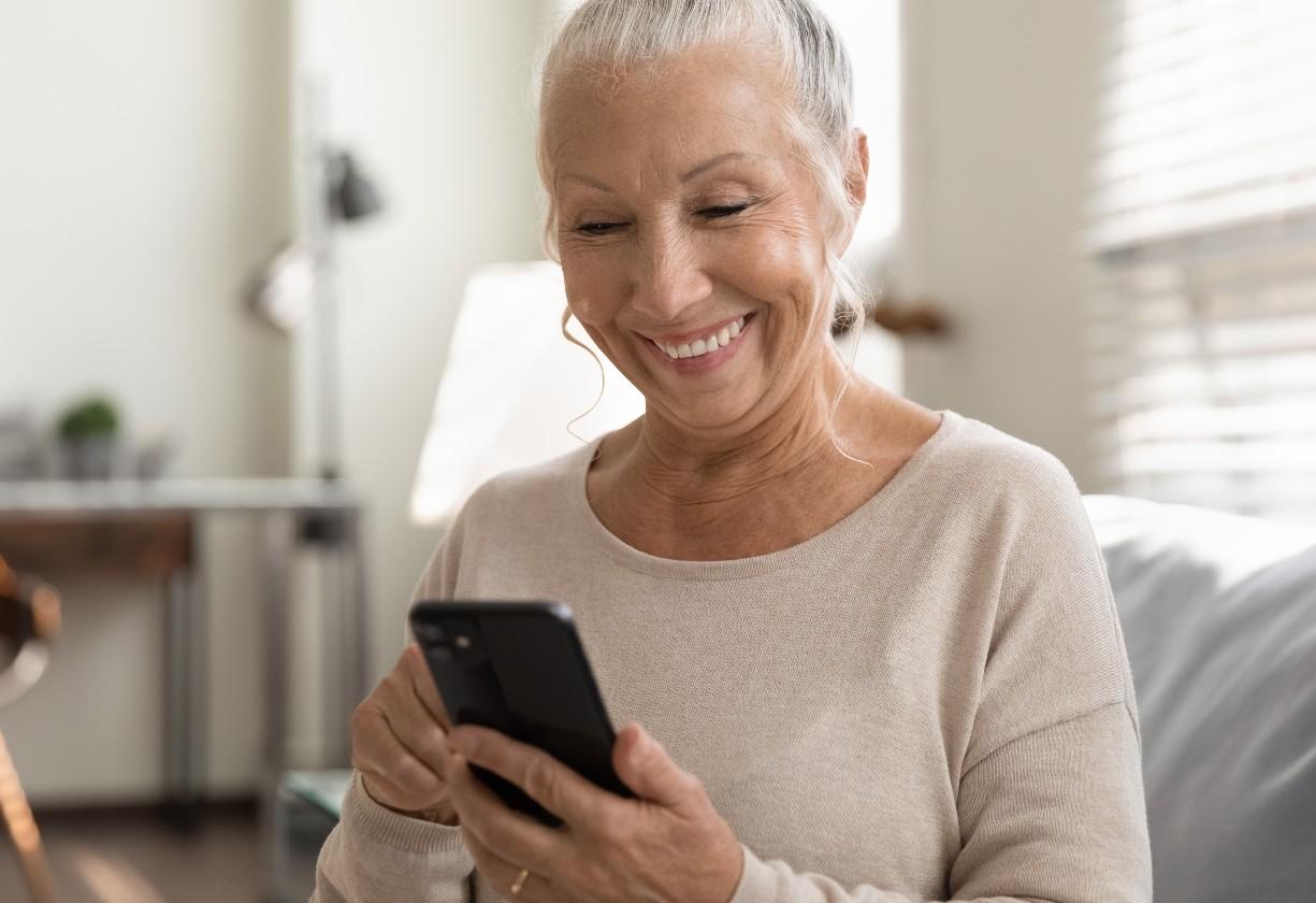 idosos conectados