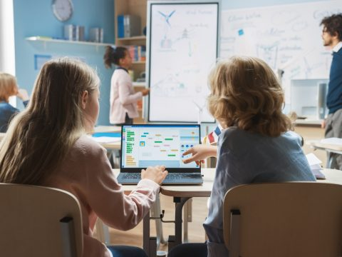 sala de aula do futuro