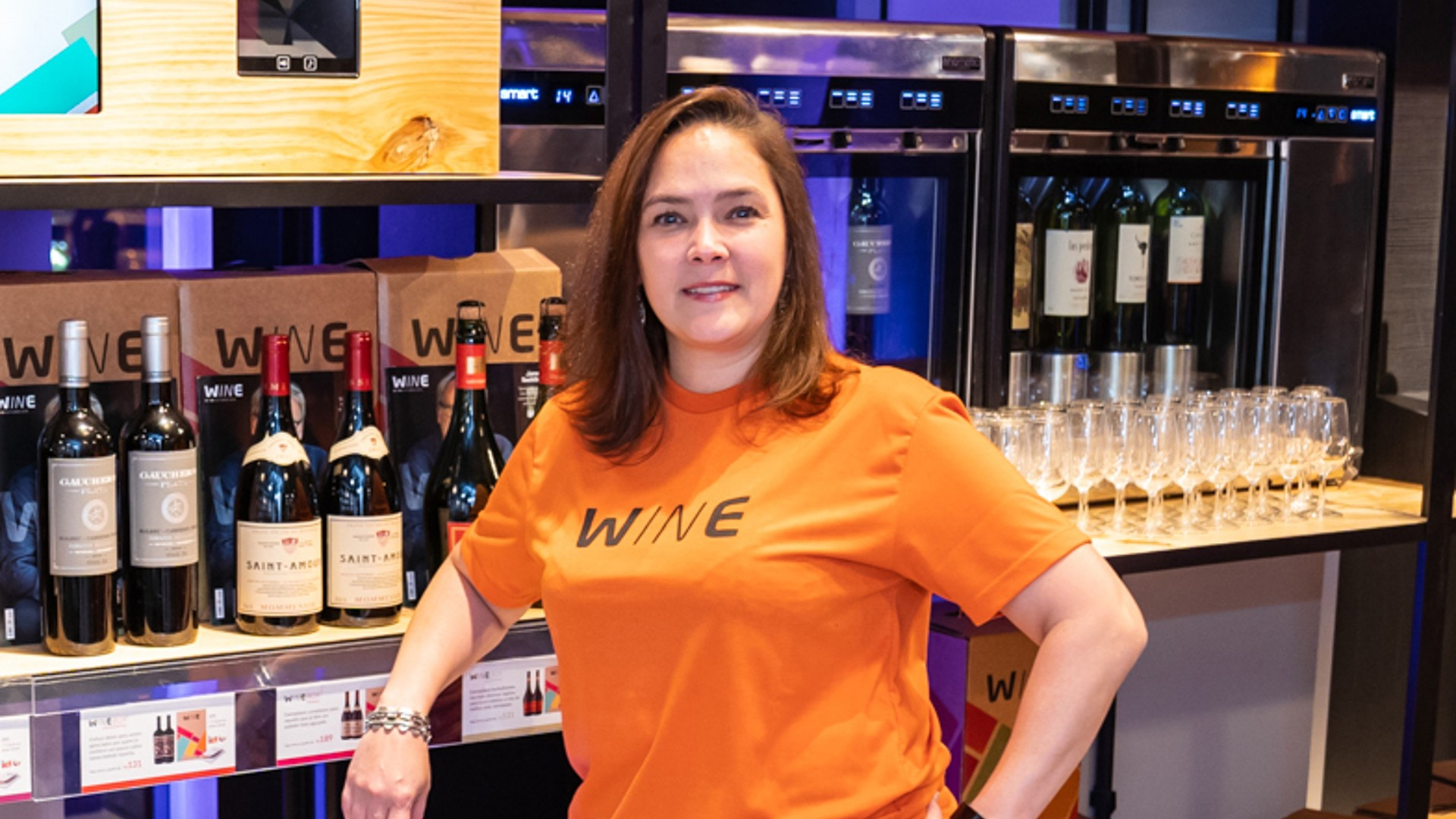 Nativa digital, Wine proporciona experiência conectada na loja física